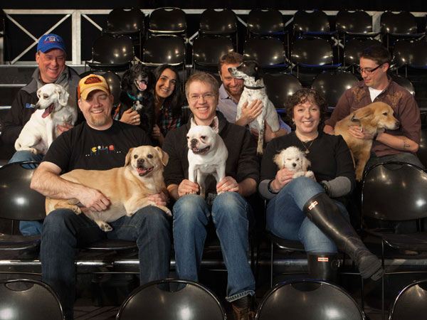 The Daily Show Staff & Dogs